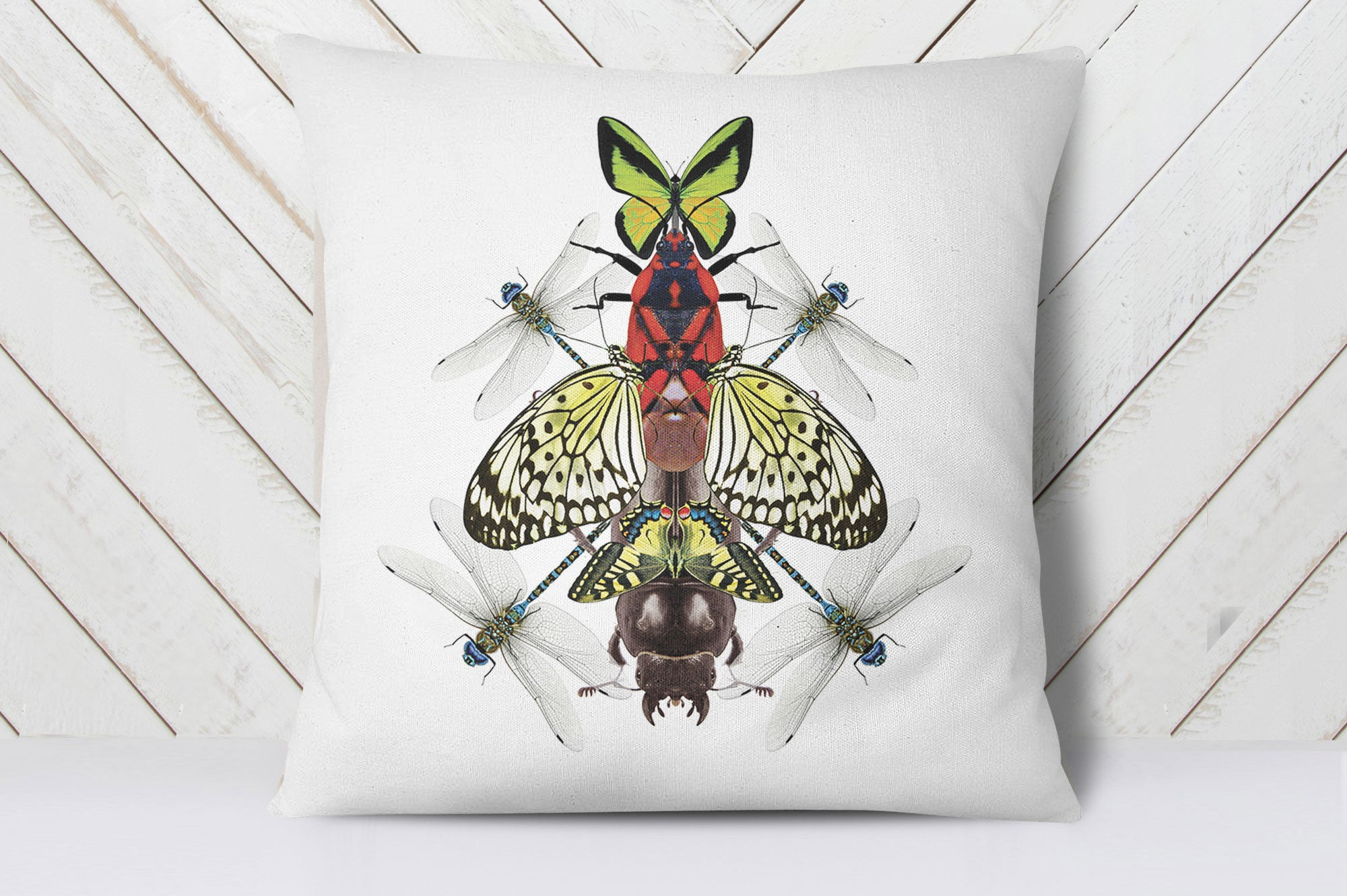 Butterfly Art Cushion Cover