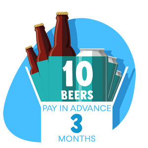 10 Craft Beer Box: 3 months