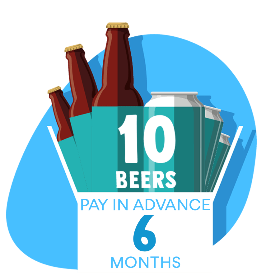 10 Craft Beer Box: 6 months