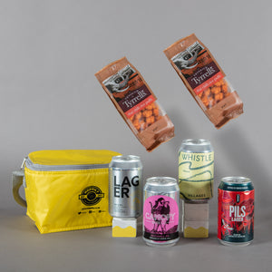 Hoppily Cool Bag - 4 cans plus 2 snacks
