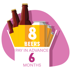 8 Craft Beer Box: 6 months