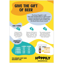Gift of 6-month Hoppily Club Membership