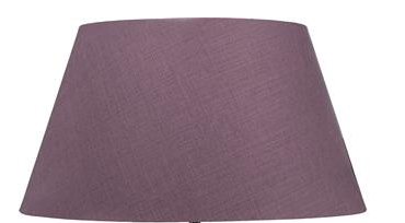 "Henry 26"" Cone Damson Linen Lampshade ONLY"