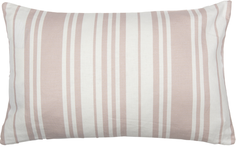 Hebe Scatter Cushion COVER ONLY 35x55cm - Agatha Oyster Pink