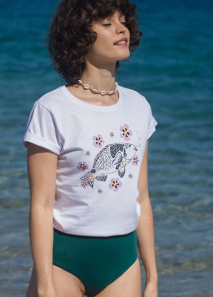 Camiseta Viejita Blooming