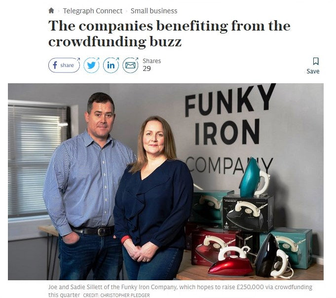 THE SUNDAY TELEGRAPH - THE COMPANIES BENEFITING FROM THE CROWDFUNDING BUZZ