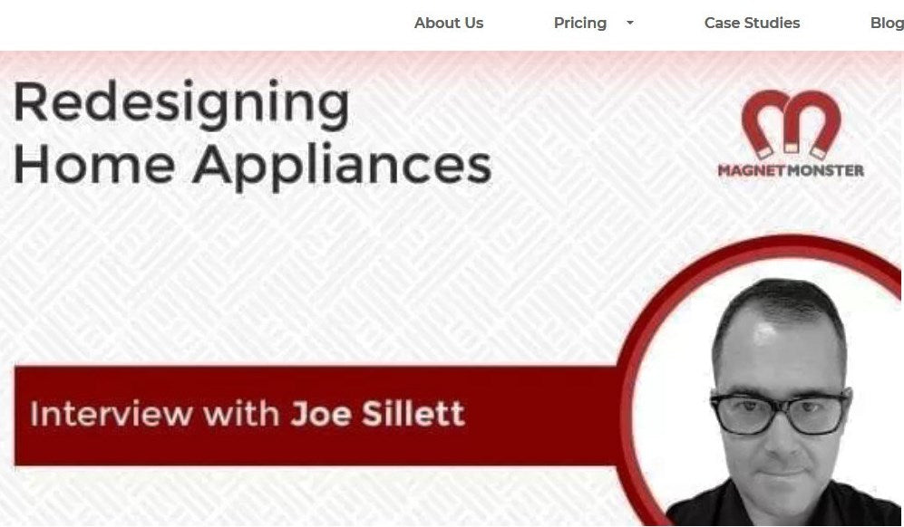 MAGNET MONSTER INTERVIEW: REDESIGNING HOME APPLIANCES