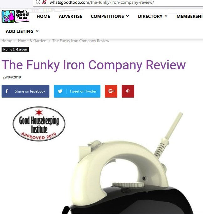 WHAT'S GOOD TO DO - THE FUNKY IRON COMPANY 5 STAR REVIEW