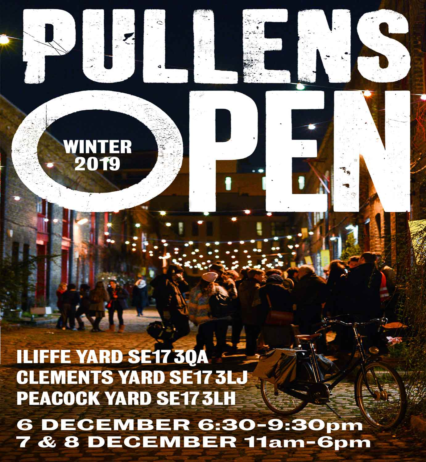 Pullens Yard Winter Open Studios