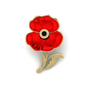 DESIGNING THE NEW POPPY BROOCH FOR THE ROYAL BRITISH LEGION