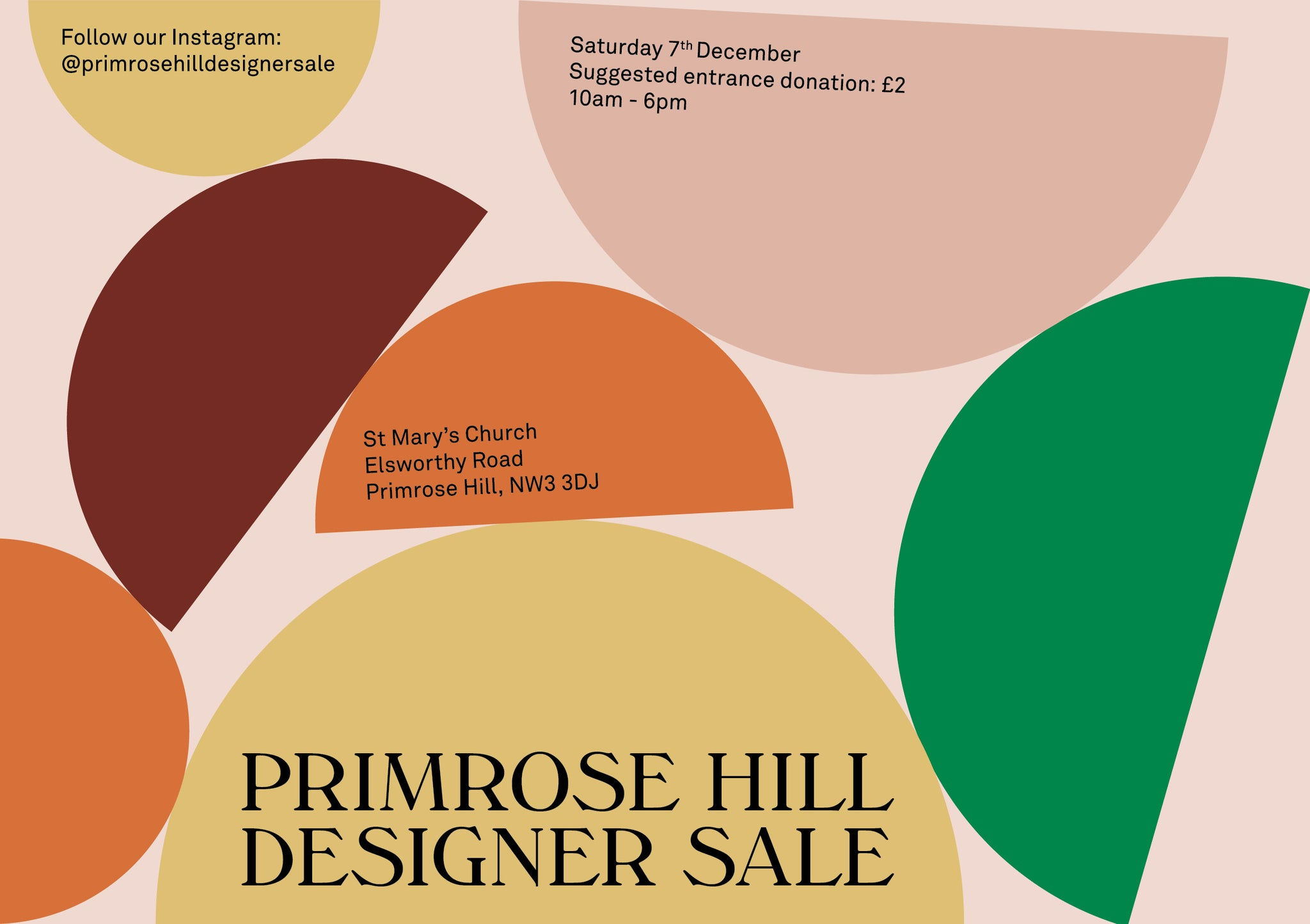 Primrose Hill Winter Sale
