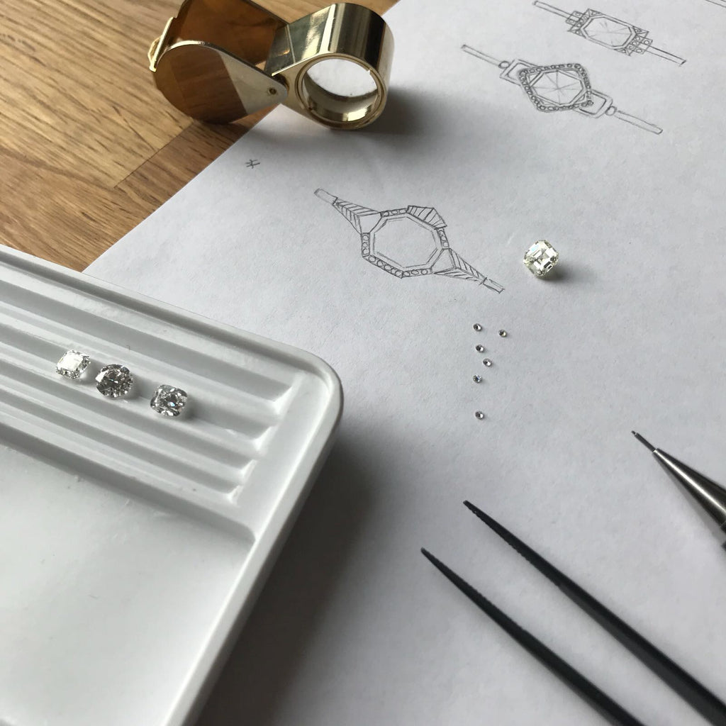 Bespoke engagement rings London