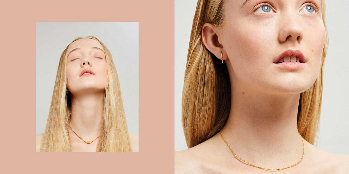 Rosie Kent new jewellery collection gold choker necklace