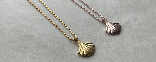 Rosie Kent Scallop Art Deco Necklaces