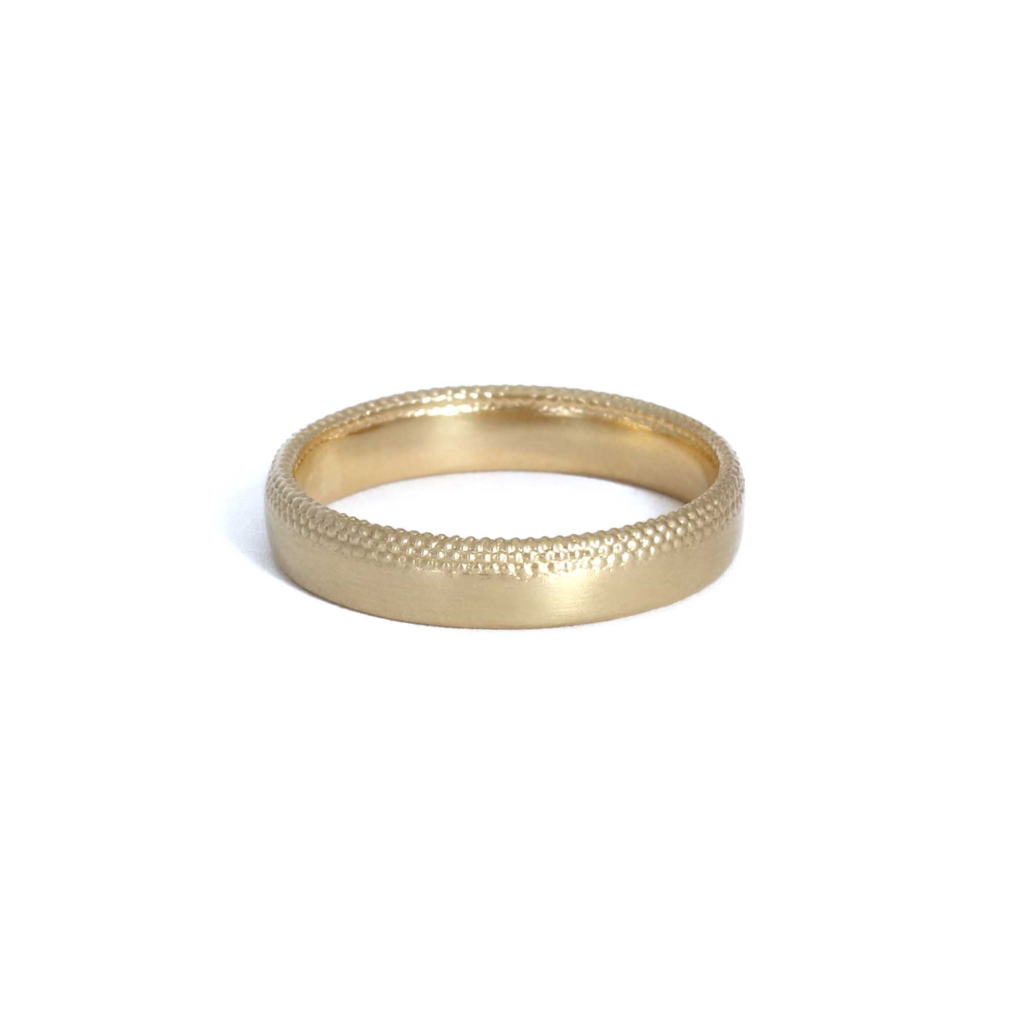 4.25mm Tyro Fade Band 9ct gold