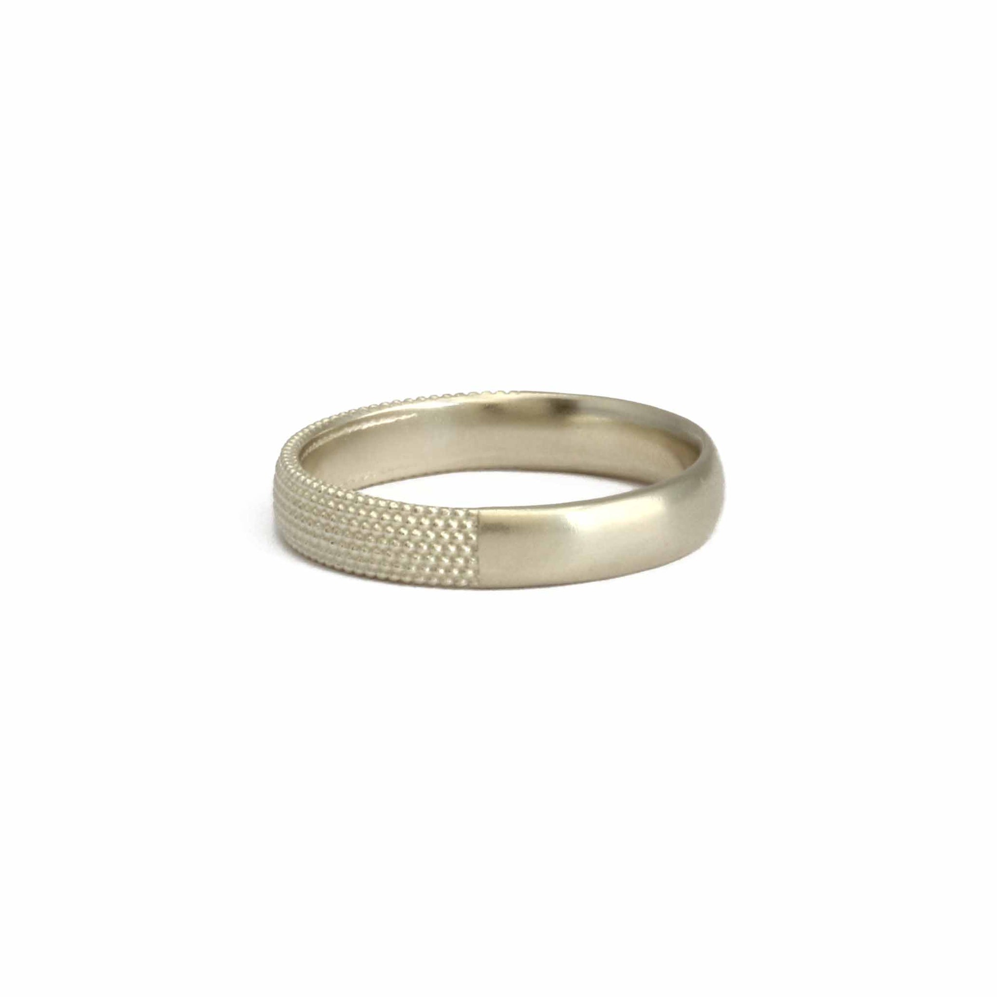 4mm Tyro Half Band 9ct gold