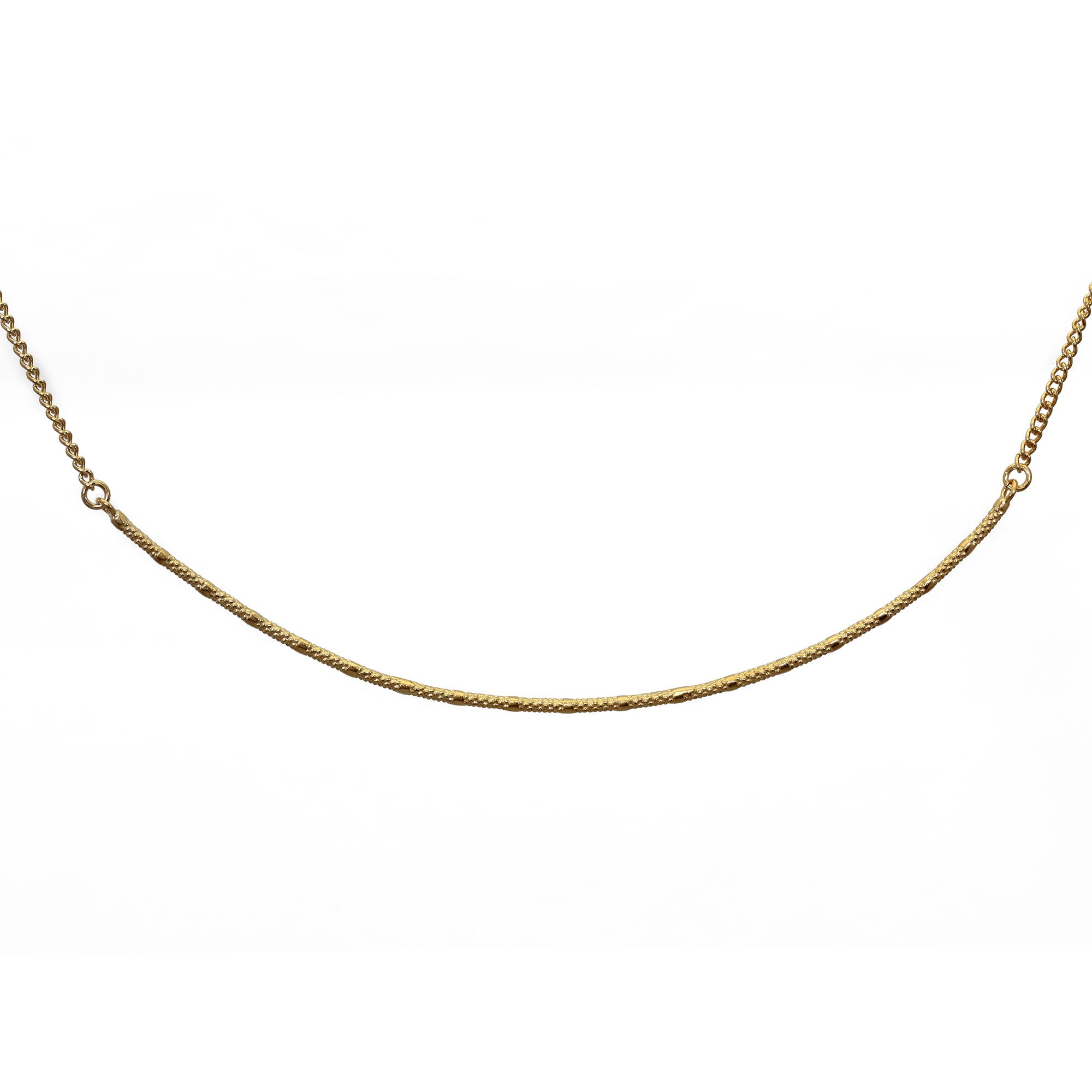 Fracture Yellow Gold Choker