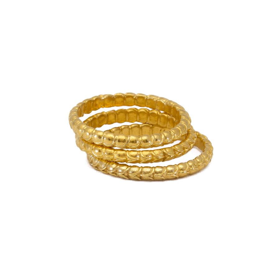 Arthropod Yellow Gold Ring