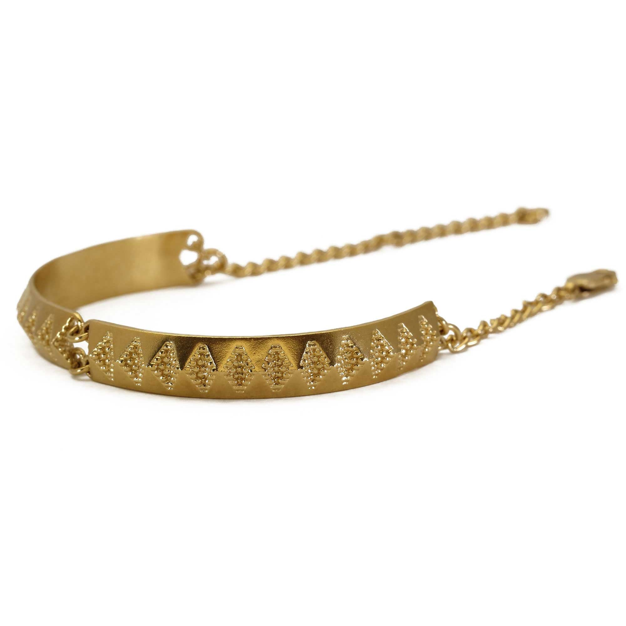 Chasm Yellow Gold Bracelet