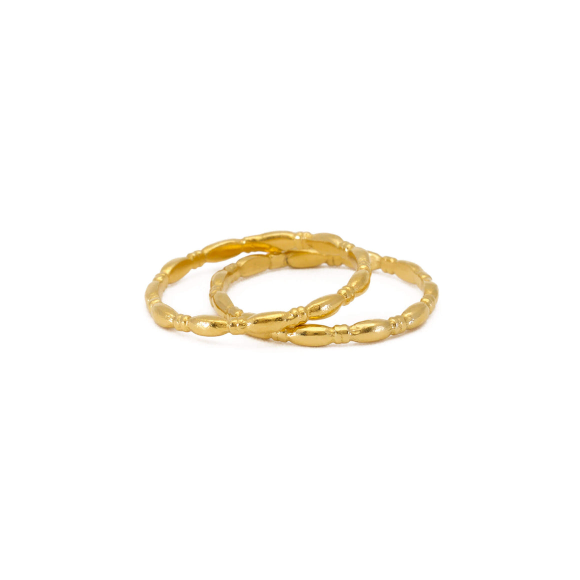 Gammarus Yellow Gold Ring