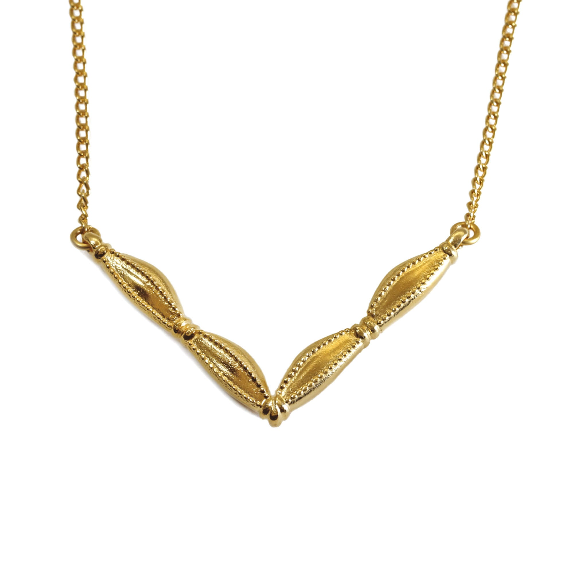 Mantid Yellow Gold Necklace