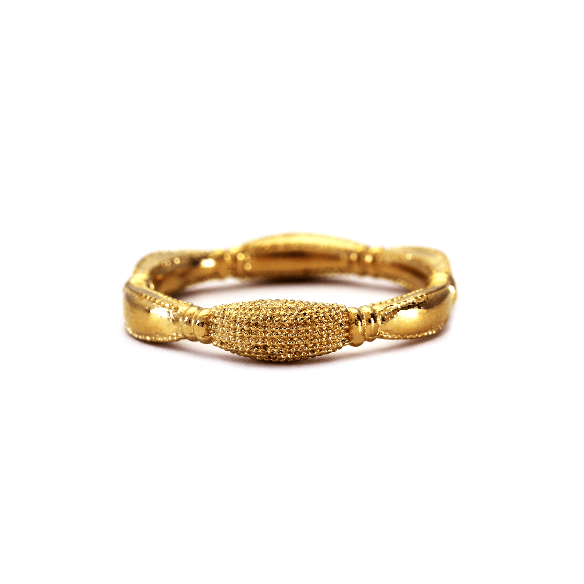Mantid King Yellow Gold Ring