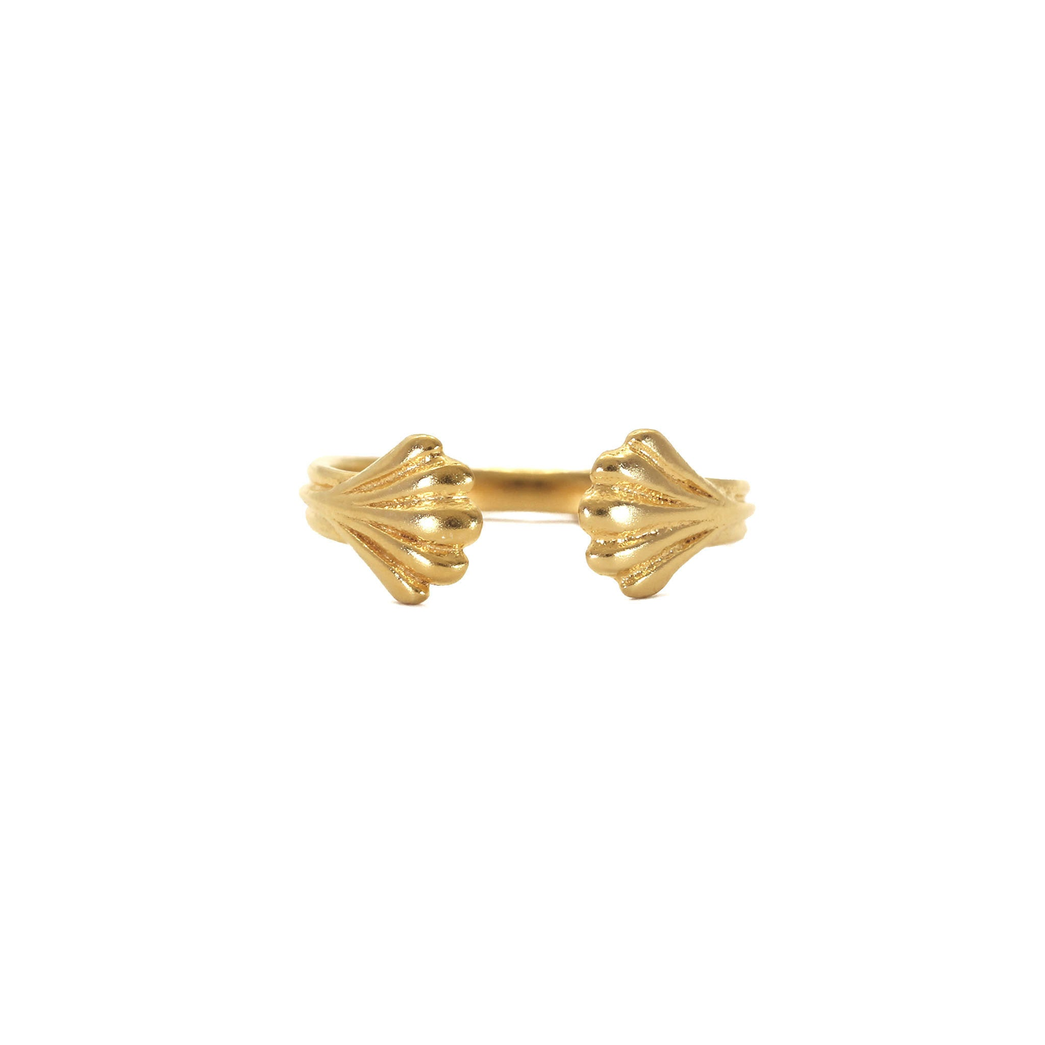 Wing Yellow Gold Ring