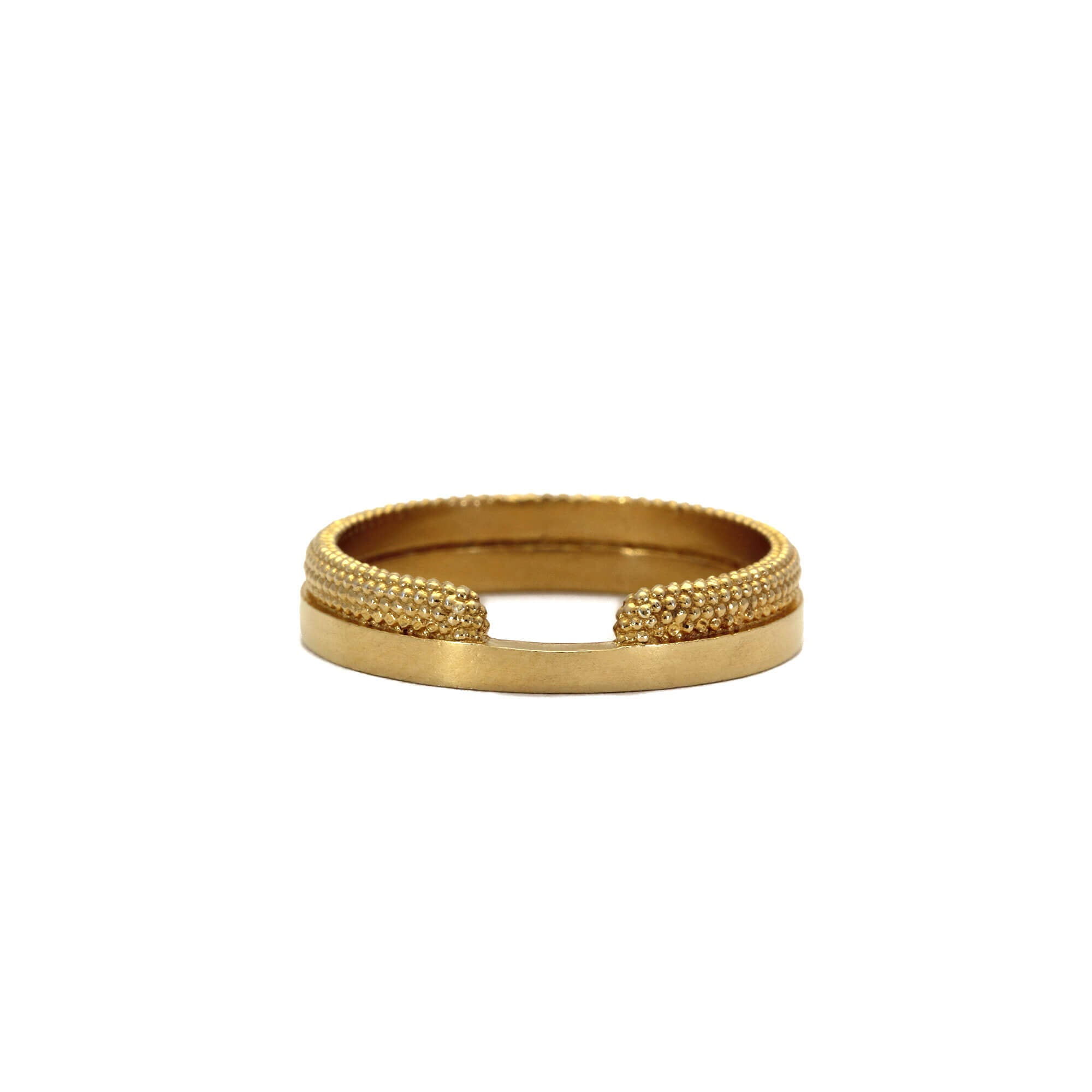 Source Yellow Gold Ring