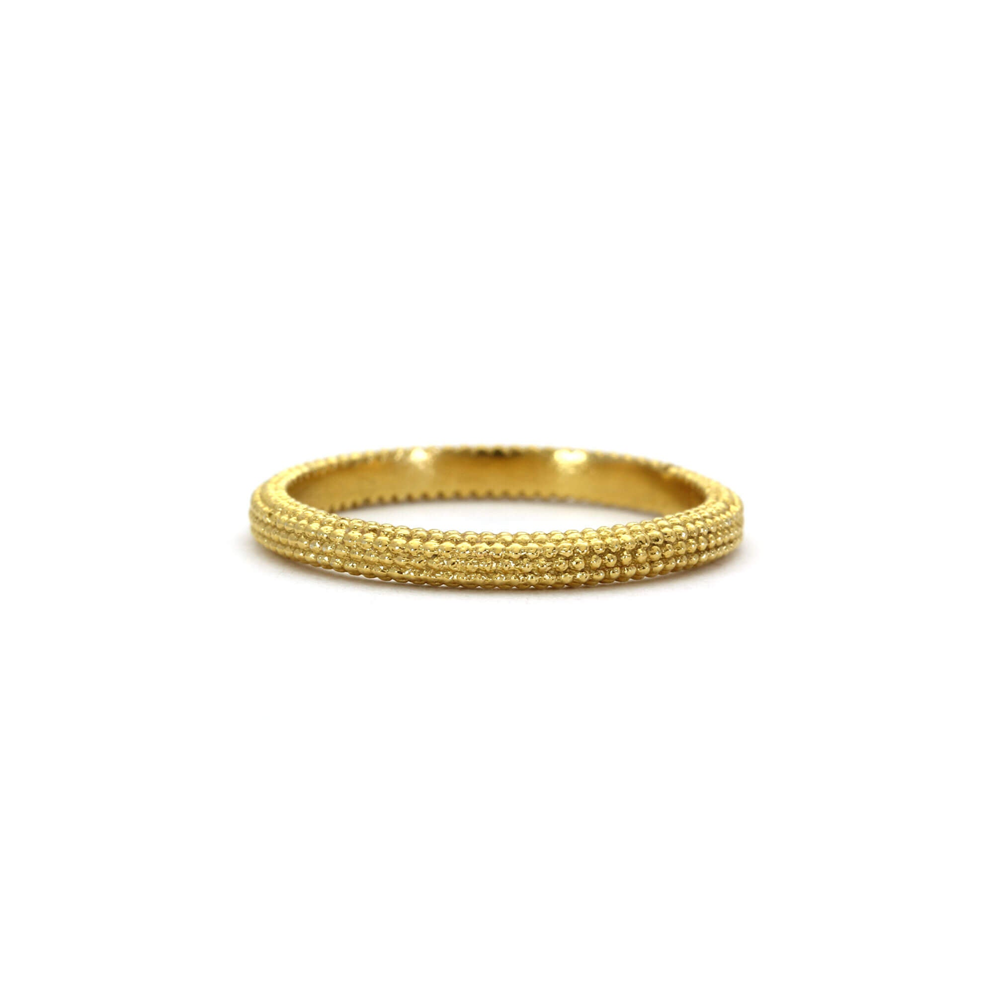 Tyro Yellow Gold Ring