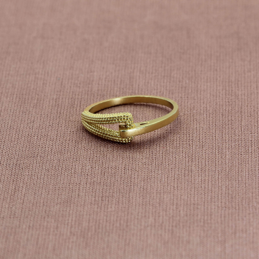 Zinnia Yellow Gold Ring