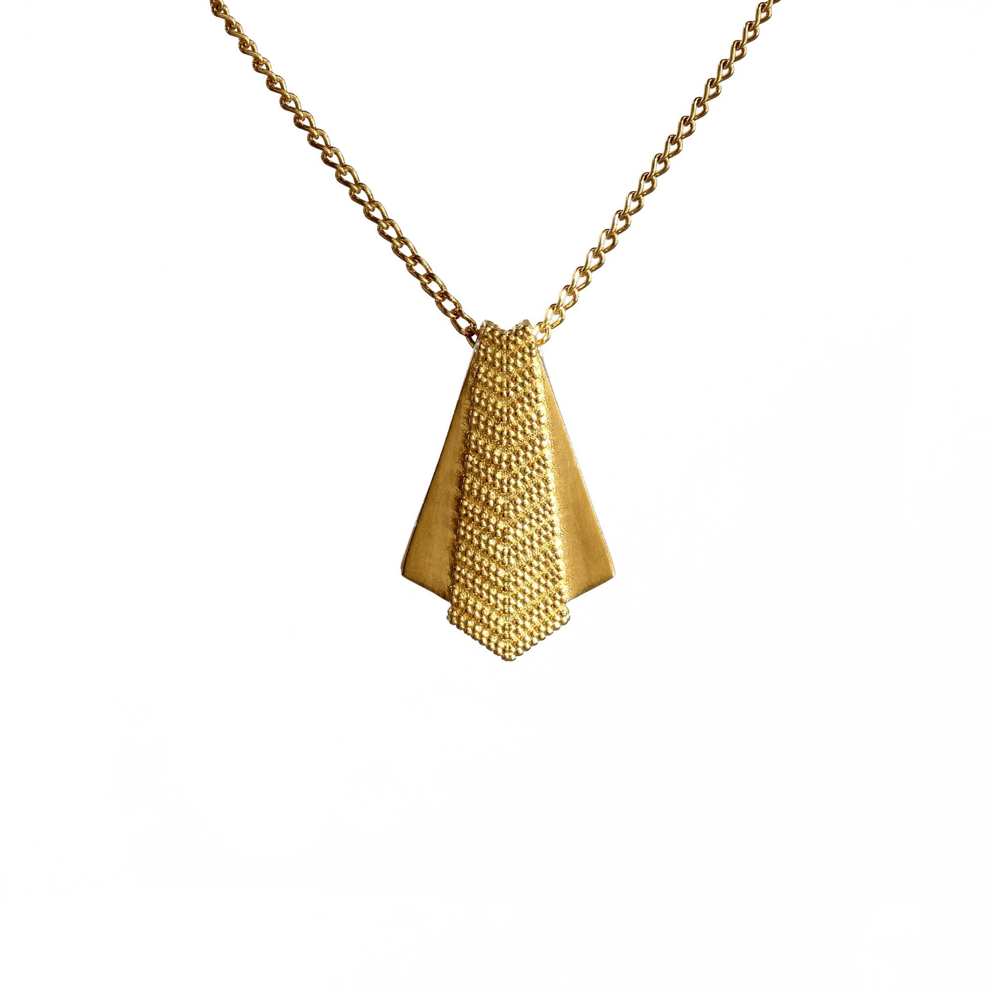 Ruptus Yellow Gold Pendant