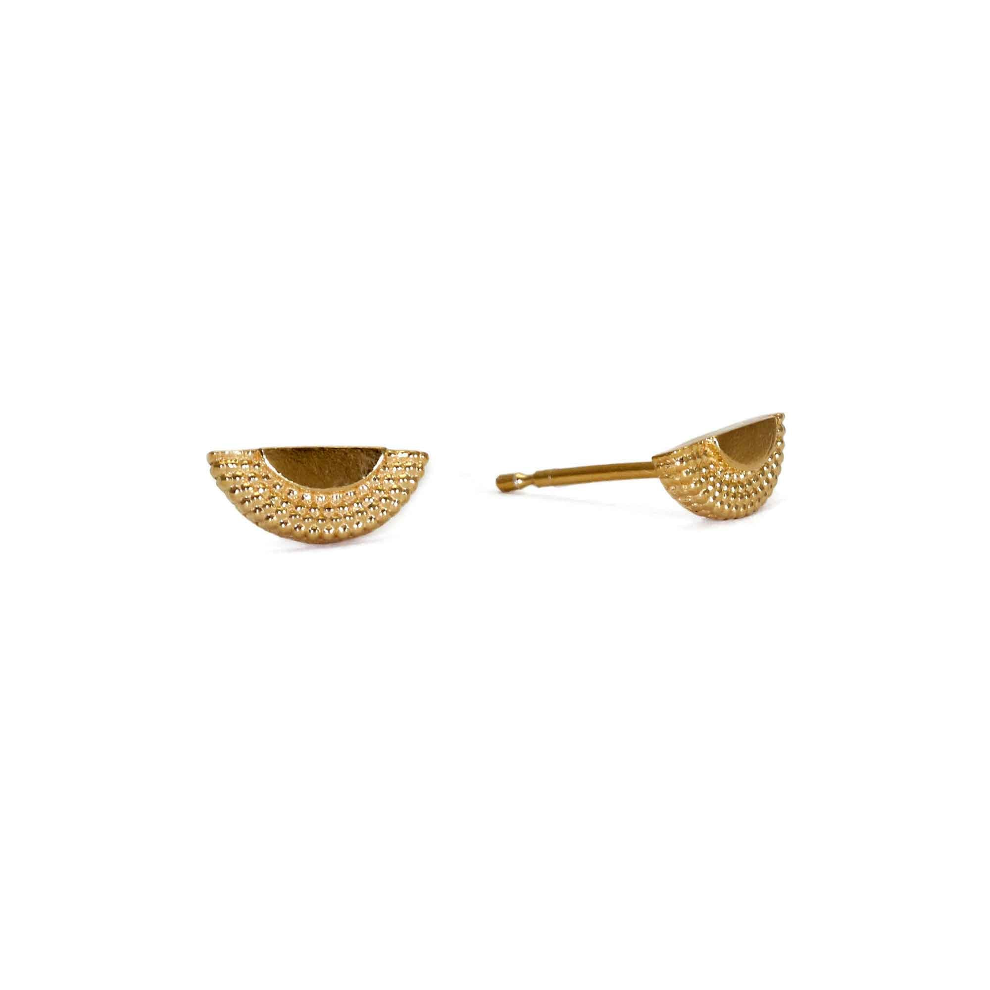 Ruptus Yellow Gold Tiny Studs