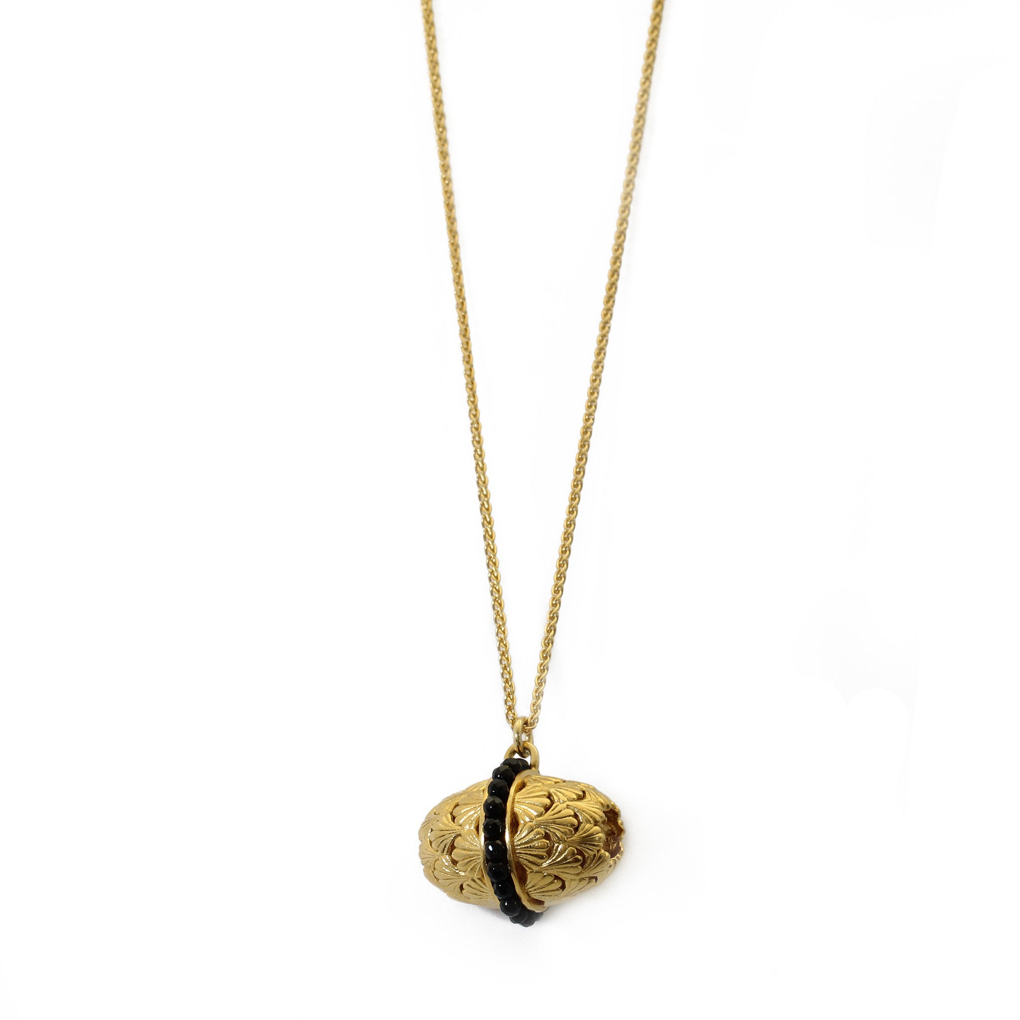 Temple Yellow Gold Necklace