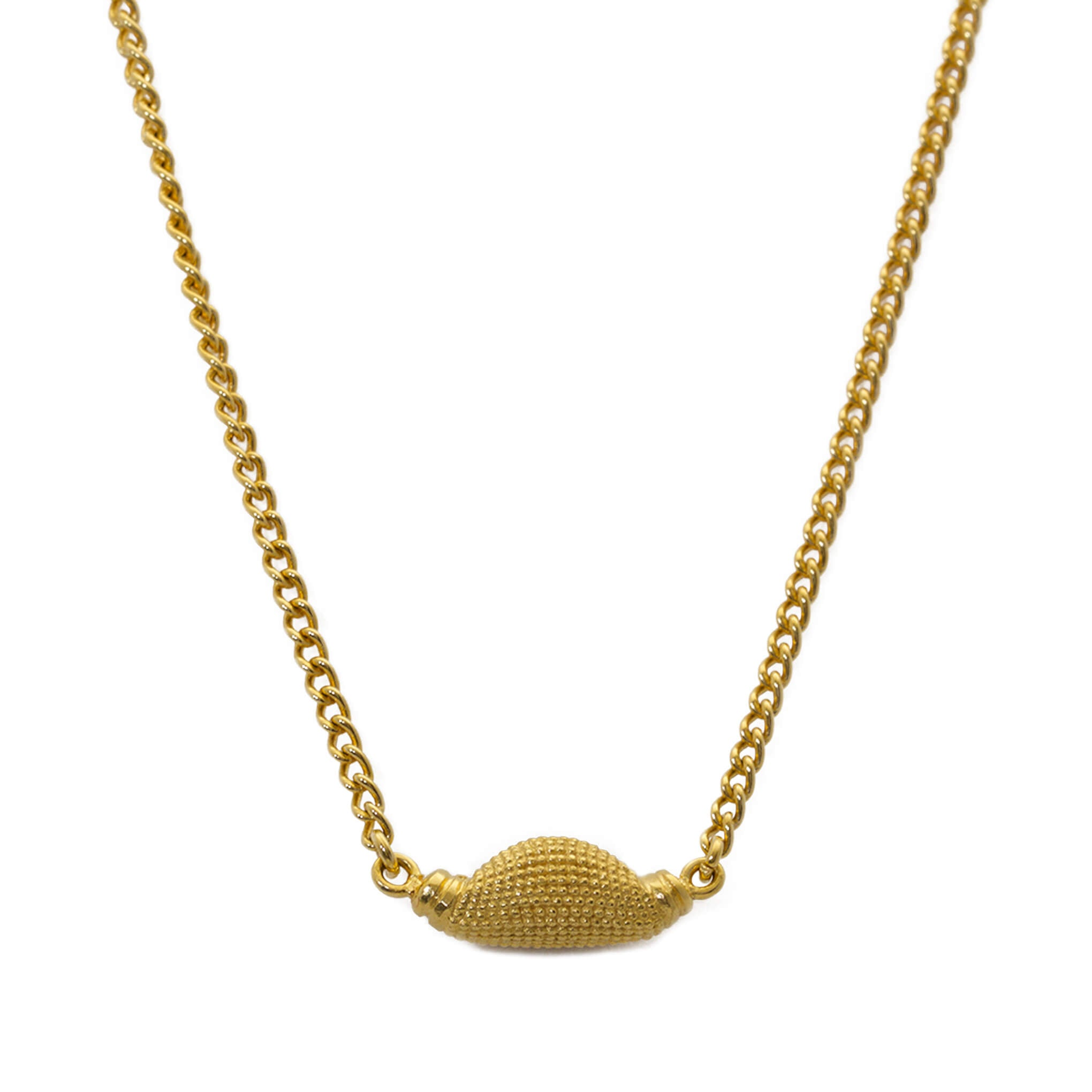 Maxilla Pod Yellow Gold Necklace