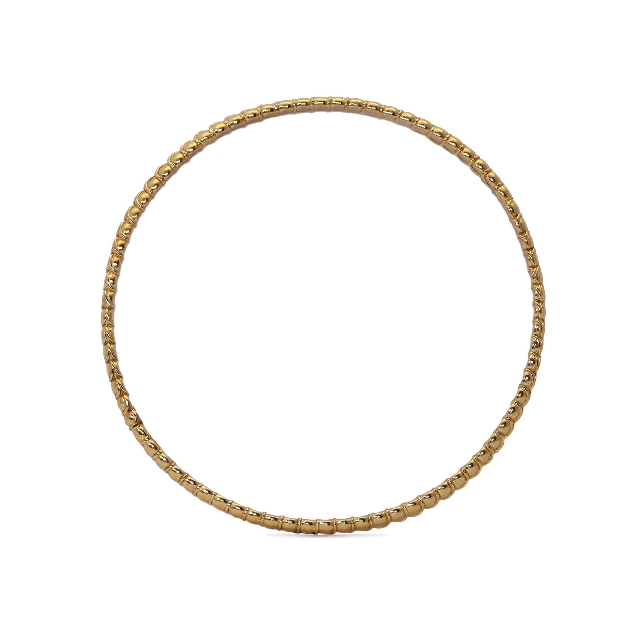 Arthropod Yellow Gold Bangle