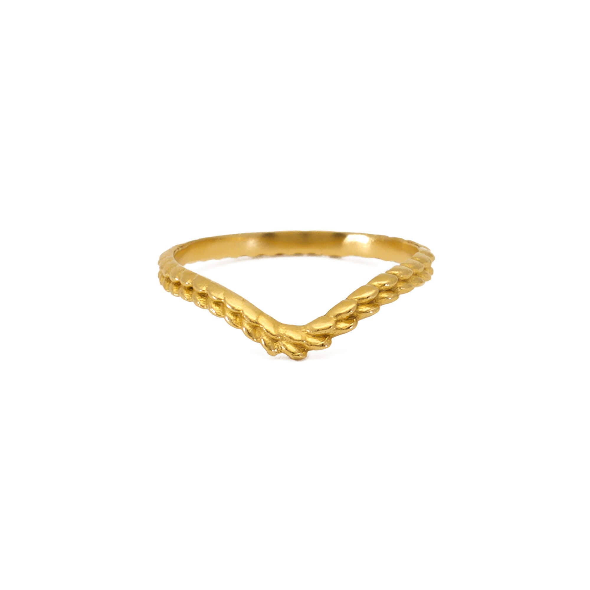 Tagmata Yellow Gold Ring