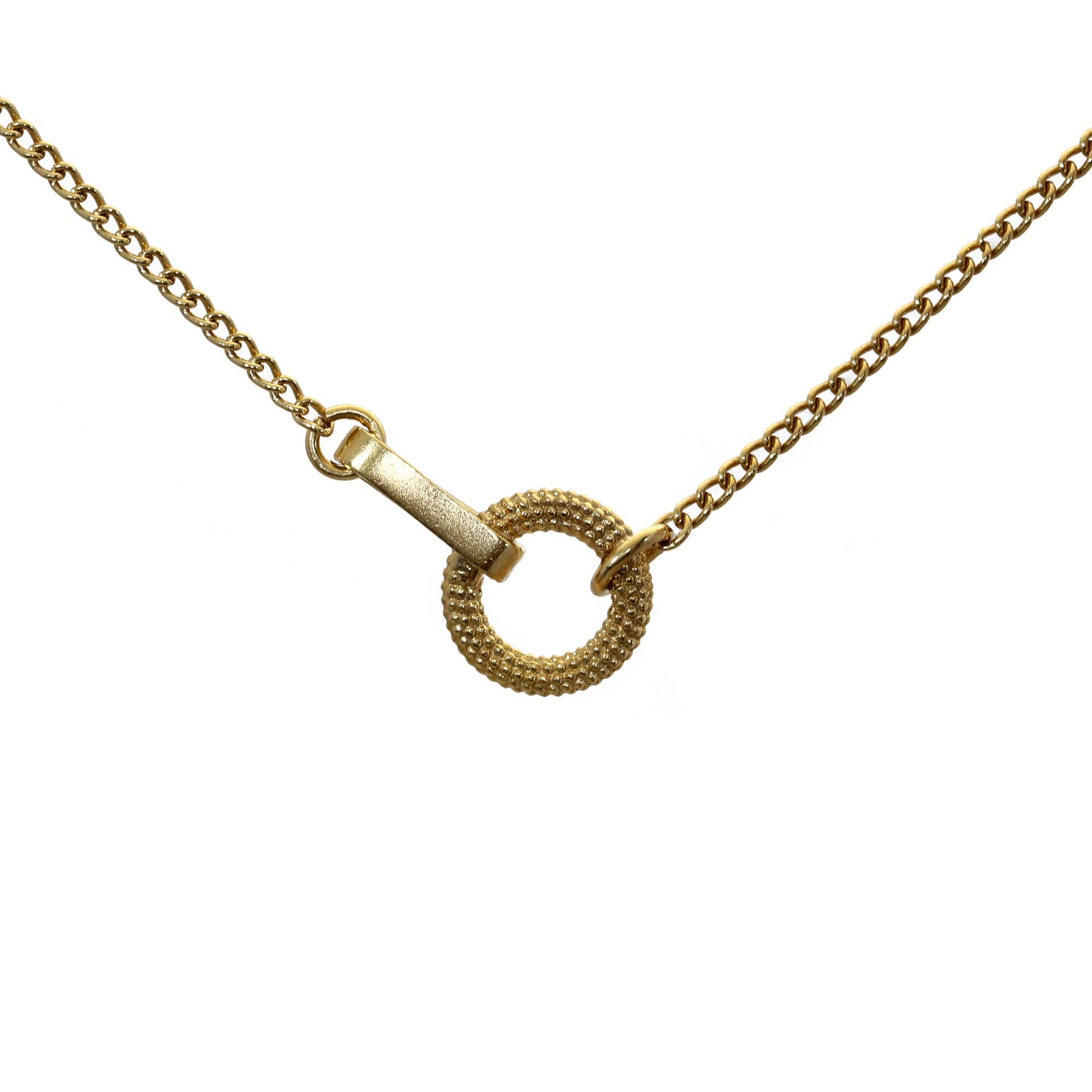 Tyro Yellow Gold Necklace