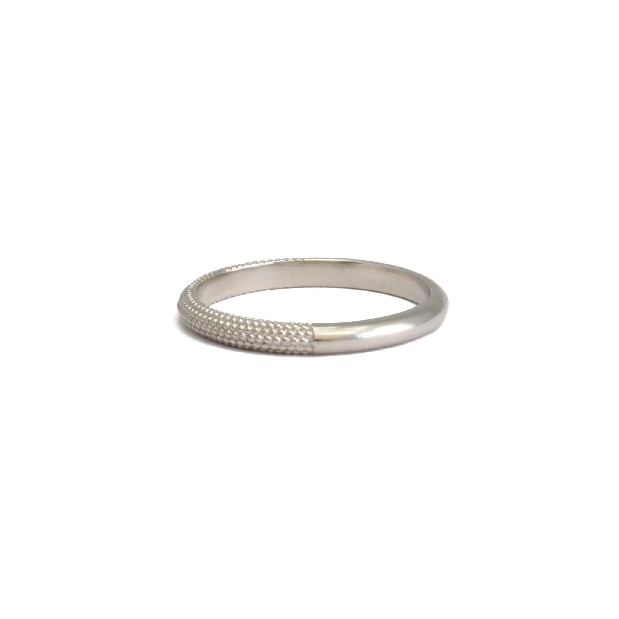 2.25mm Tyro Half Band 9ct gold