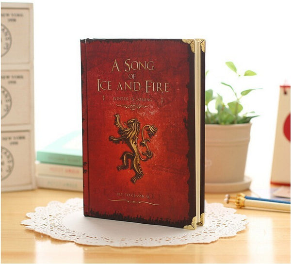 "Game of Thrones ""A Song of Ice & Fire"" Hardcover Notebooks"
