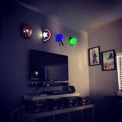 Marvel Super Heroes Wall Lamps