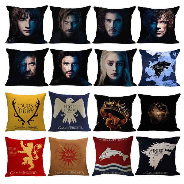 Game of Thrones inspired Cushion Covers