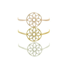 Silver, Gold and Rose Dreamcatcher Bracelets