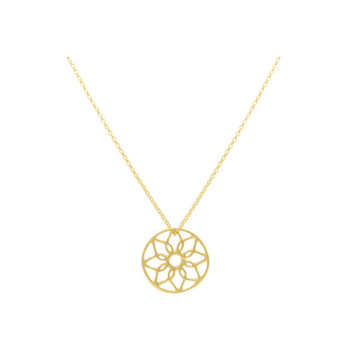 18ct Gold Vermeil Oriana Dreamcatcher Necklace