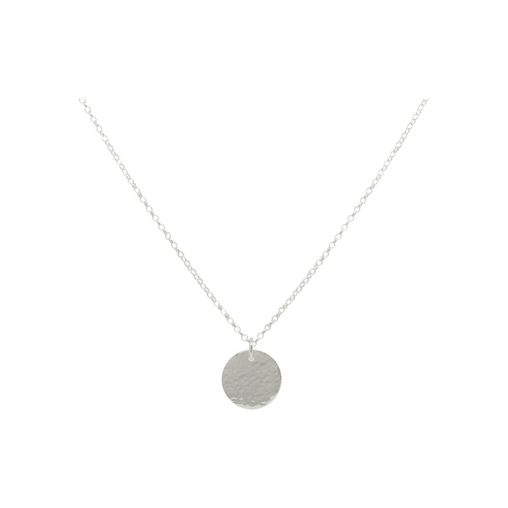 Sterling Silver Halo Charm Layer | Interchangeable Oriana Necklace