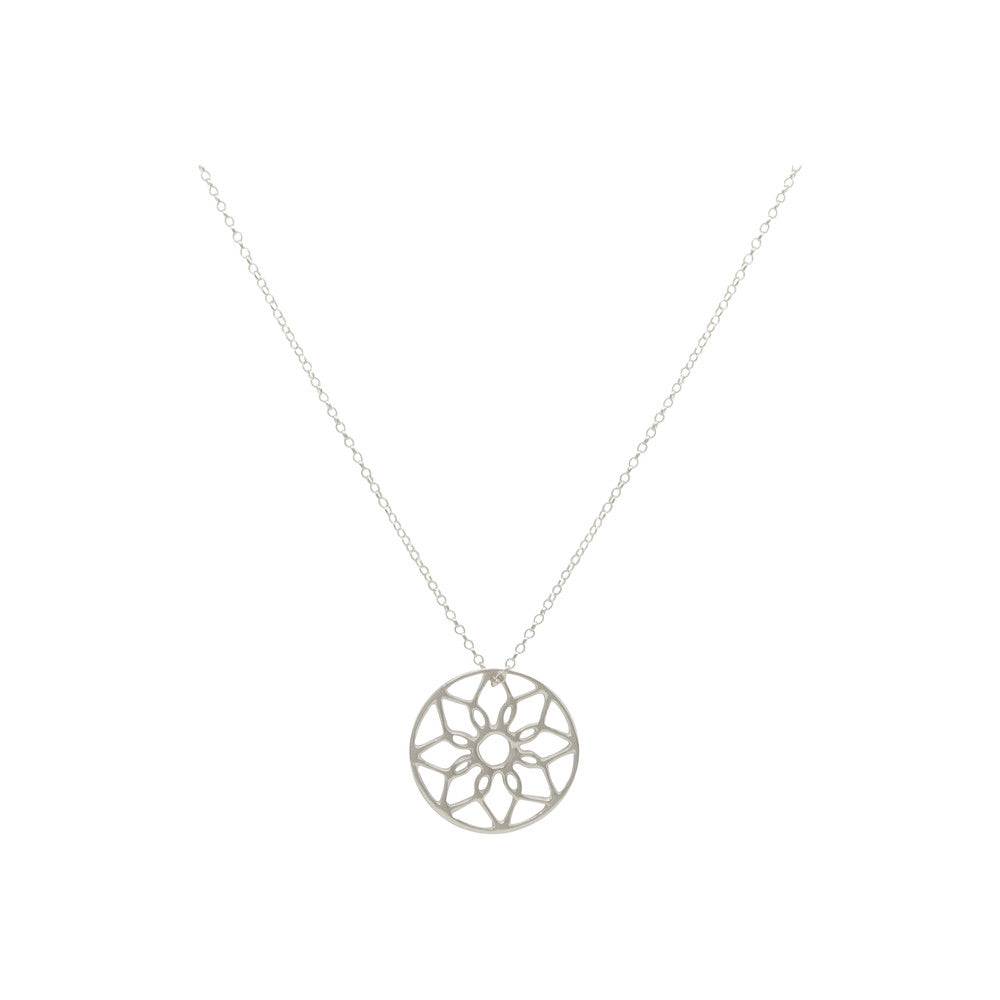 Sterling Silver Oriana Dreamcatcher Necklace