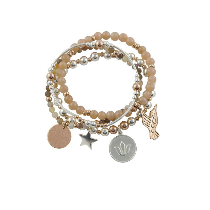 Adore Bracelet Stack - Jewellery For Romance