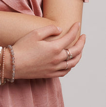 Silver and Rose Gold Stacking Rings | Boho Jewellery