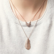 Rose Gold Layered Necklaces - Team our Feather and Arrow necklaces up for boho-luxe style.