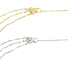 Oriana Necklace clasp allows you to change layers to sit your style