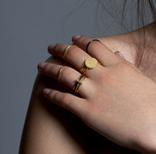 Handmade Gold Stacking Rings | Essentia By Love Lily Rose